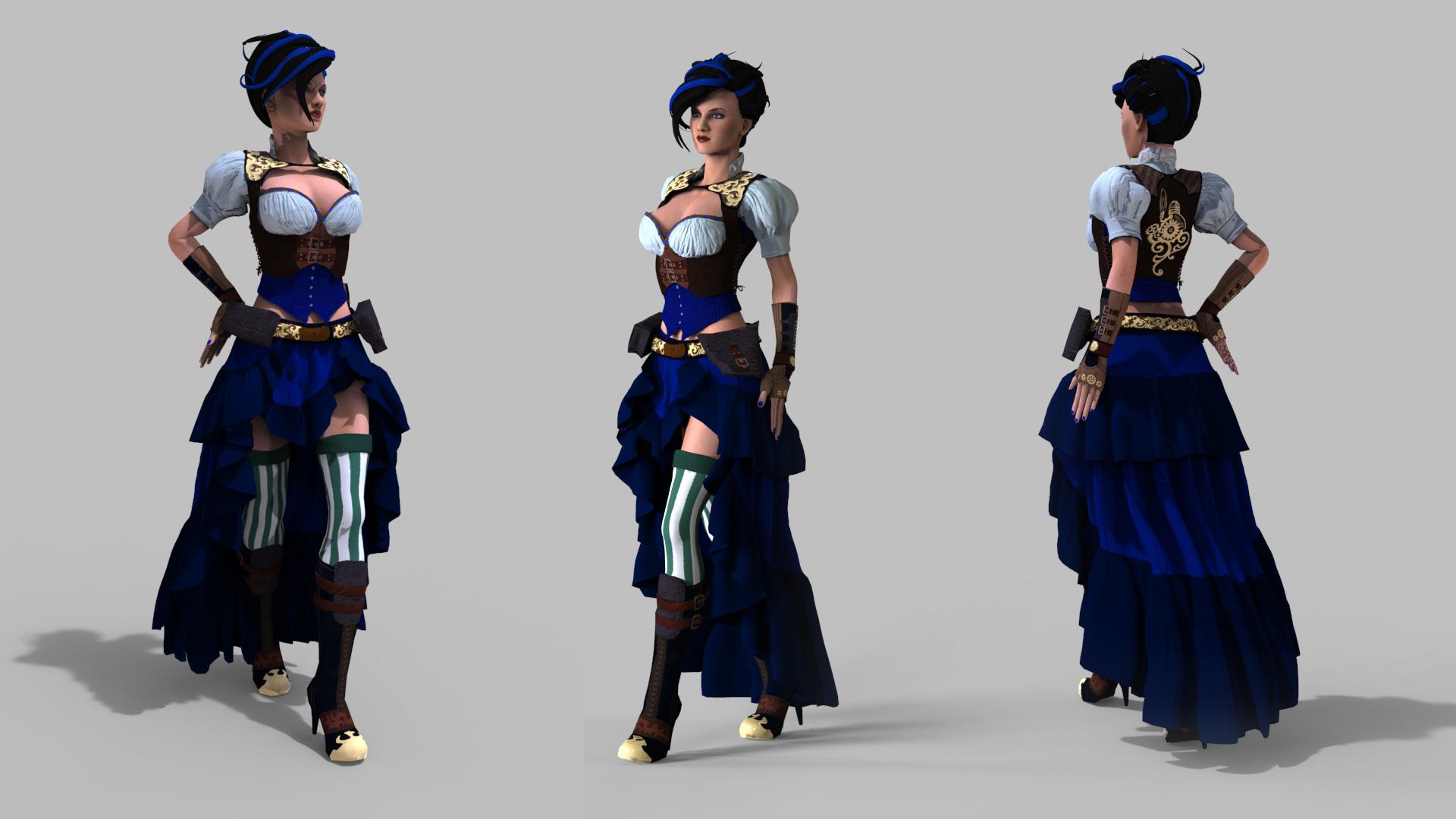 steampunkwoman 1jpg