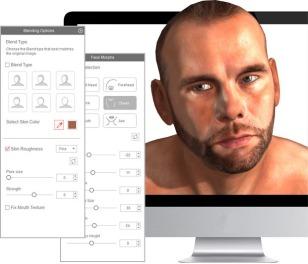 CrazyTalk-3D-Face-Fitting-03